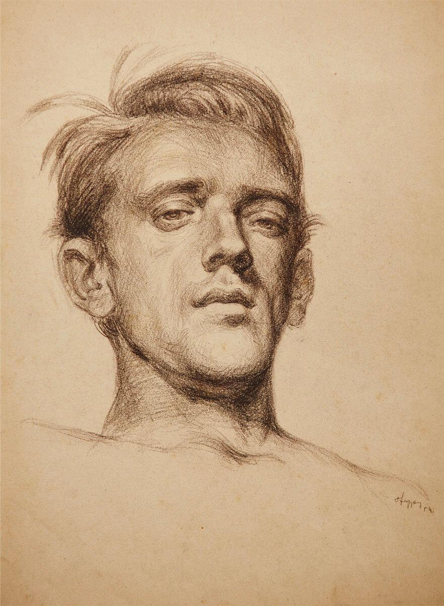 hegyesy-Autoportrét I.