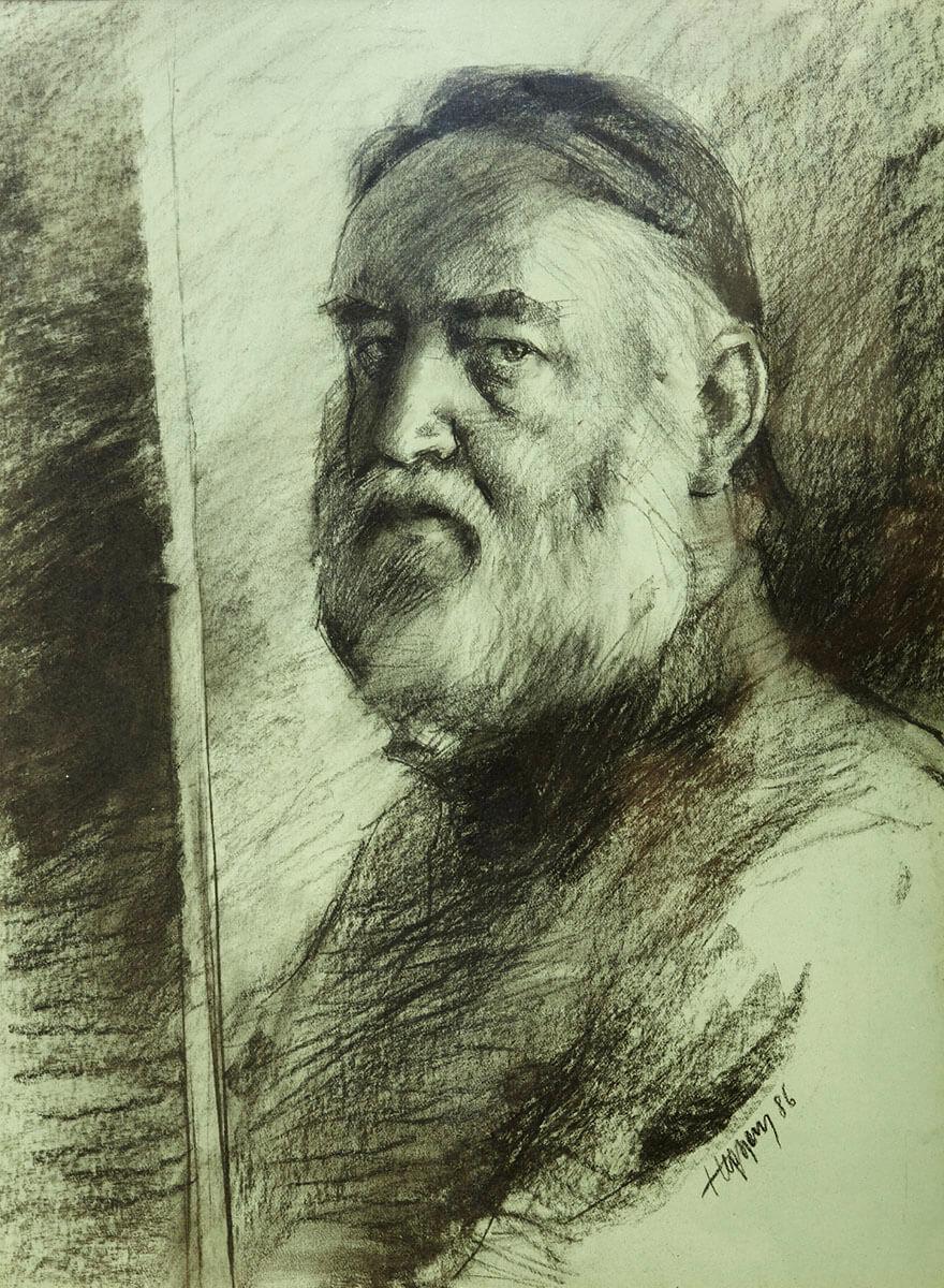 hegyesy-Autoportrét III.