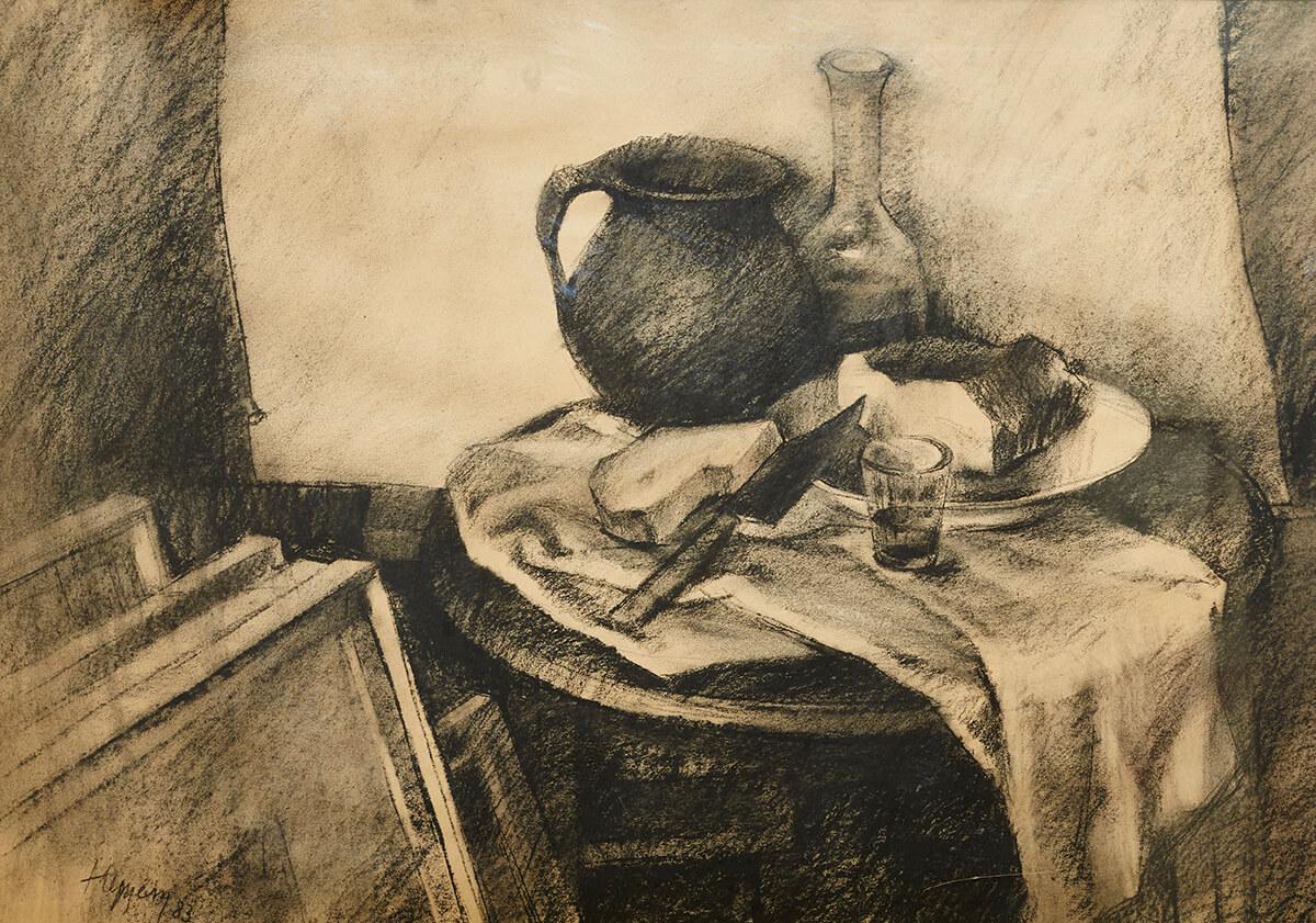 gallery-image-Zátišie s čiernym džbánom